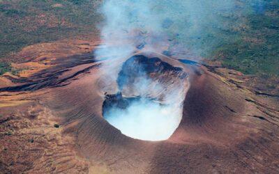 Volcán Telica, sobre Los Maribios